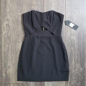 Marciano Black Mini Dress - size 4